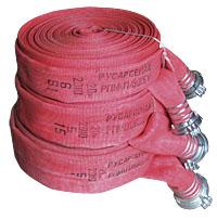 Напорные пожарные рукава латексированные